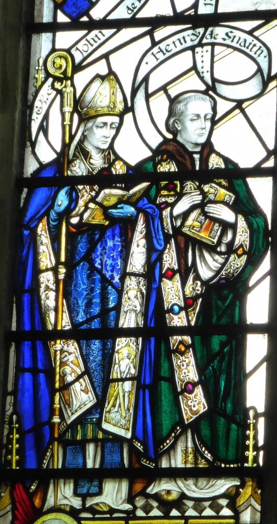 John de Drokensford & Henry Snaith